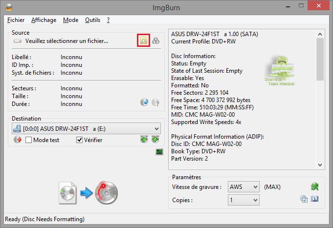 img2da0ca - Comment graver un fichier ISO ?