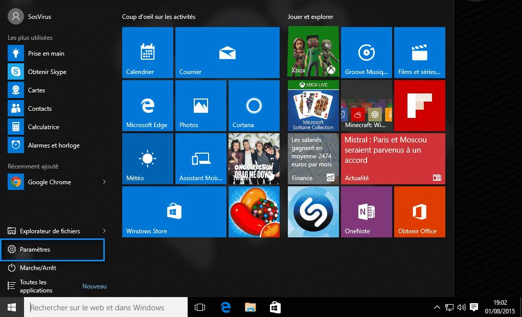 navigateur par defaut windows 10 2