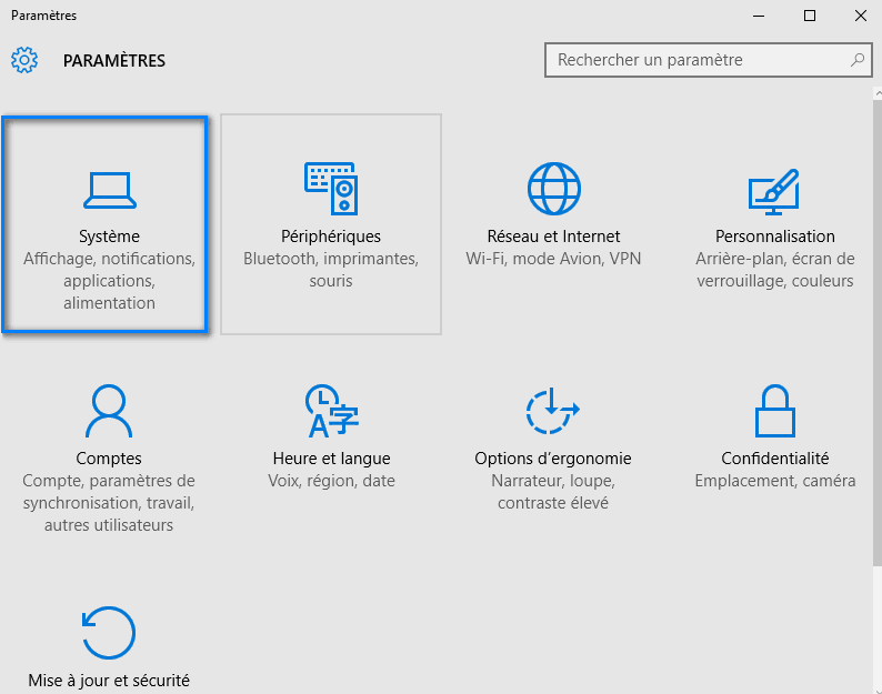 navigateur par defaut windows 10 3