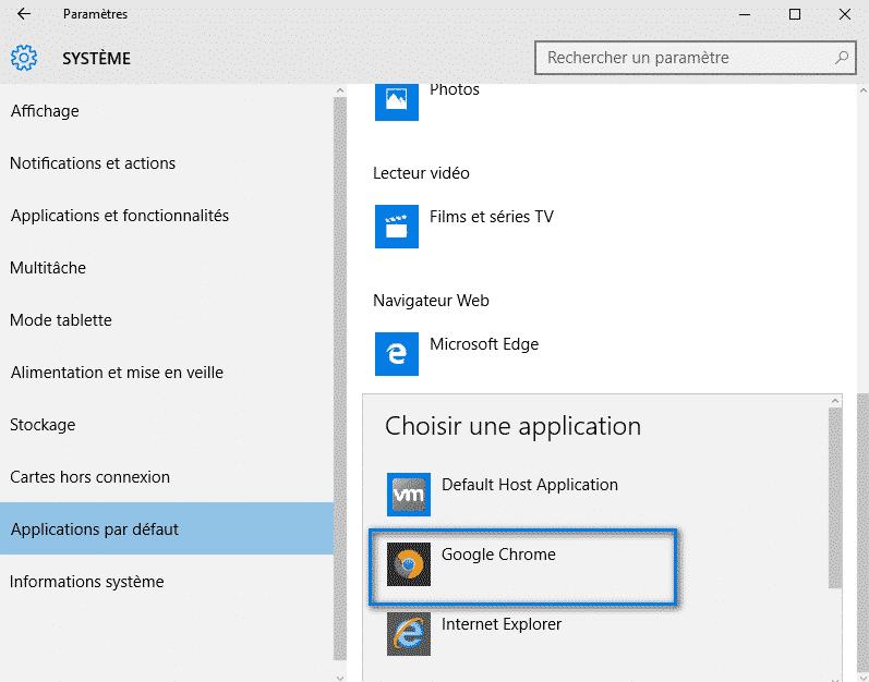 navigateur par defaut windows 10 6