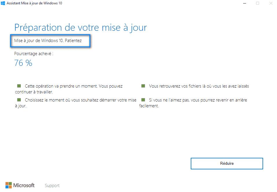 windows upgrader installation mise a jour  - Mettre à jour Windows 10 avec Windows Upgrader
