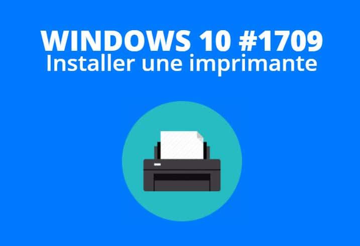 installer imprimante windows 10