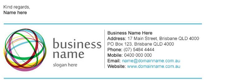 signature mail exemple - Comment ajouter une signature dans GMAIL