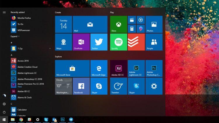 windows 10 64 bit 1903