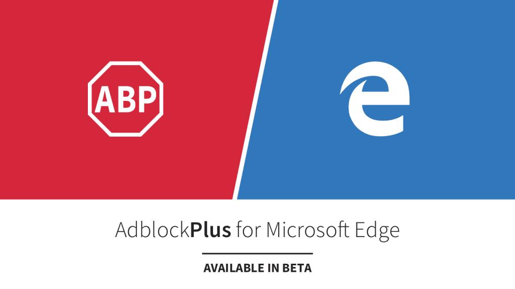 AdBlock Plus Pour Microsoft Edge