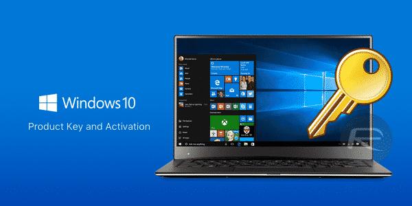 Clé de licence Windows 10