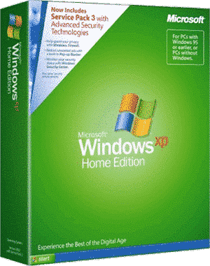 Windows XP Home Edition SP3 iso
