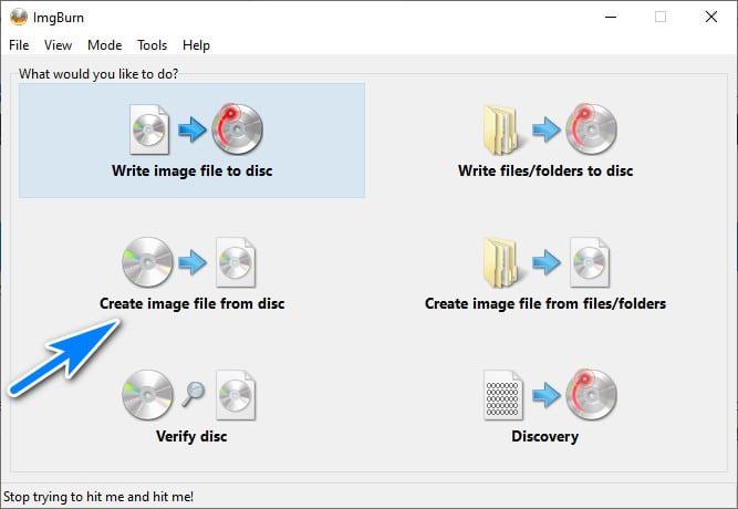Créer un fichier ISO à partir d'un CD ou DVD