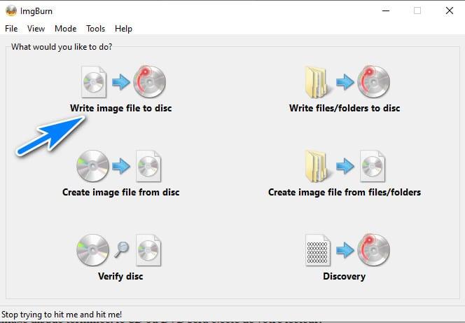 Graver une image disque sur un CD ou DVD