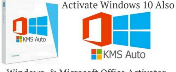 KMSAuto Net Activator pour Windows 10 et Office 2019