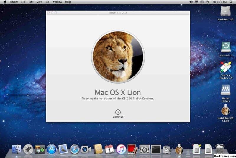 Télécharger Mac OS X Lion au format ISO - DMG