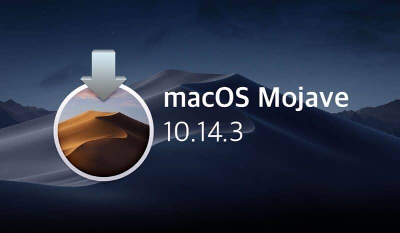 Télécharger MacOS Mojave au format ISO - DMG