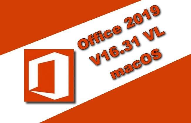 Office 2019 Volume Licence Mac