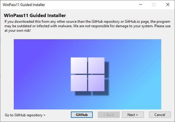 Télécharger WinPass11 Guided Installer