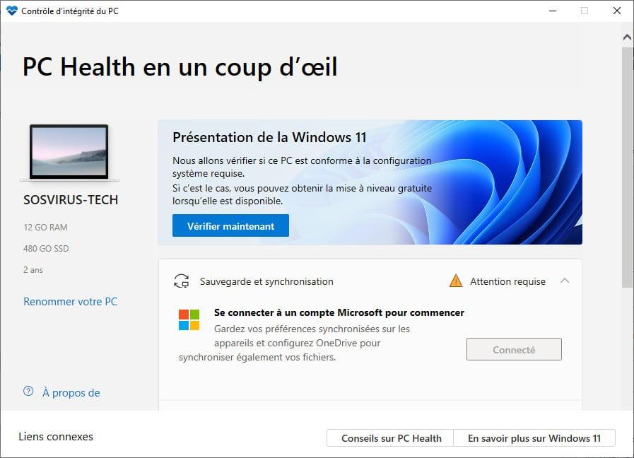 Windows PC Health