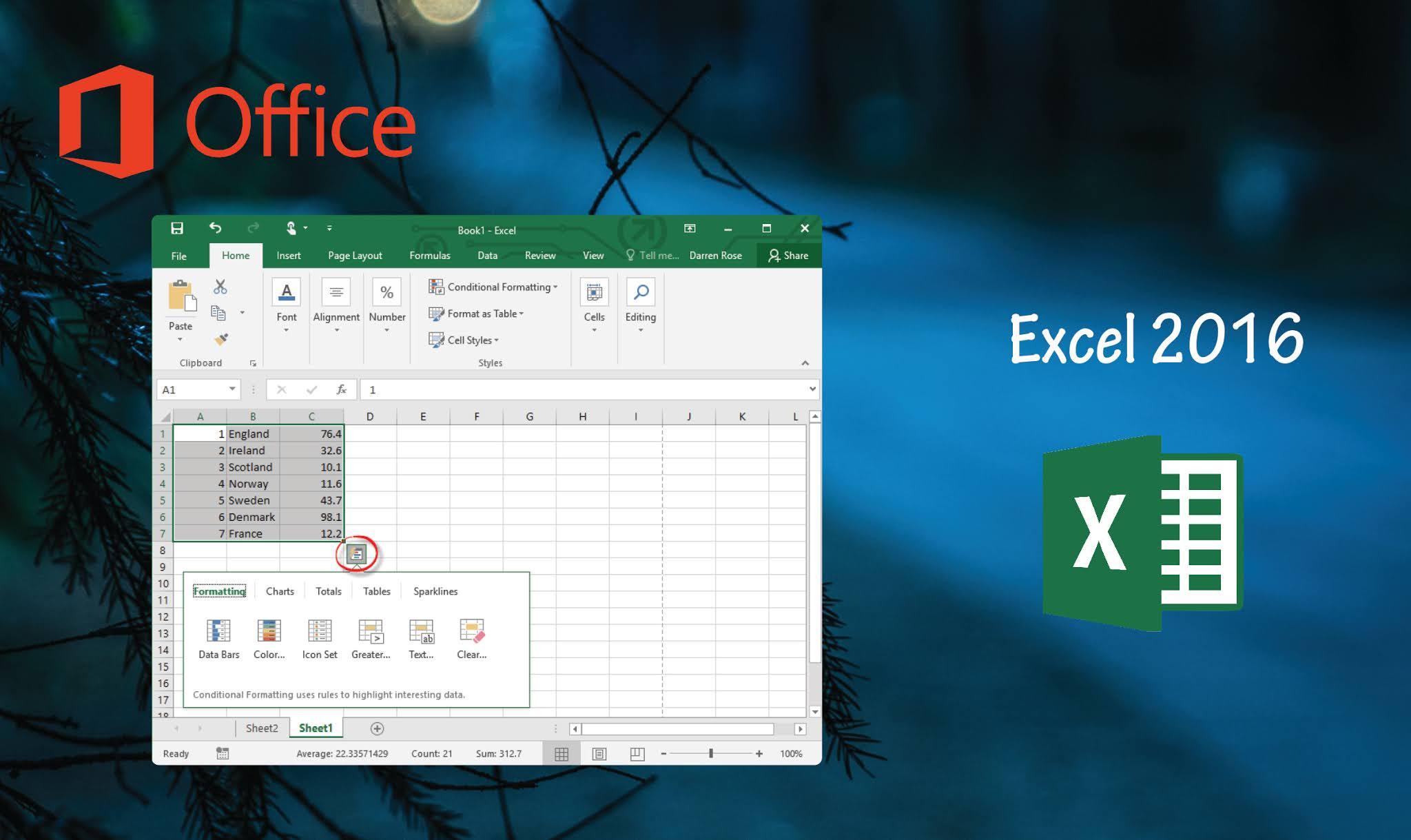 Télécharger Excel 2016 gratuitement